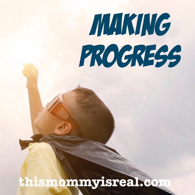 Making progress in therapy - thismommyisreal.com